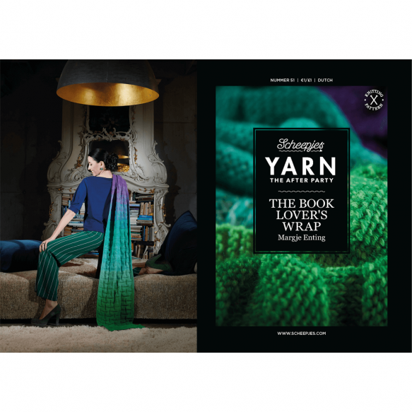 "Yarn, the after party ""Book lover's wrap"""