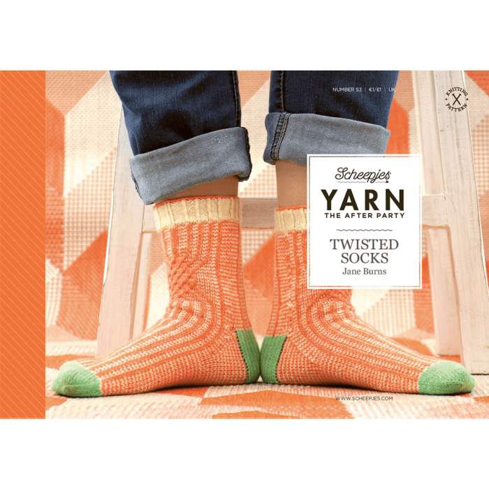 "Yarn, the after party ""Twisted socks"""