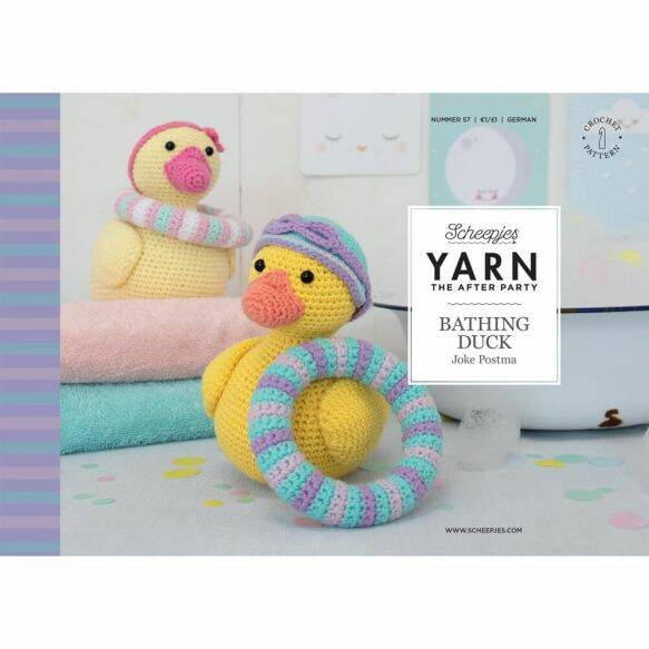 Yarn, the after party 'bathing duck'