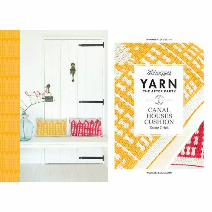 """Yarn, the after party """"Canal Houses Cushion"""""""