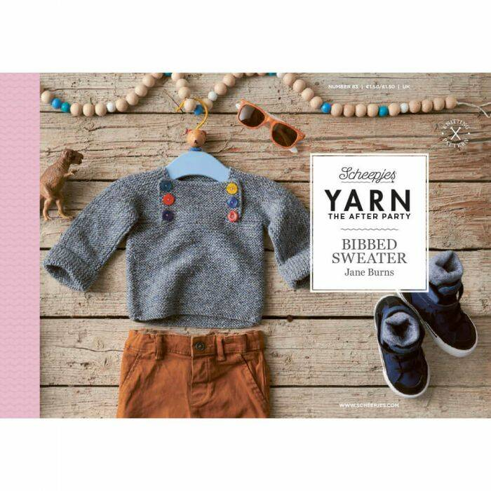 """Yarn, the after party """"Bibbed sweater"""""""