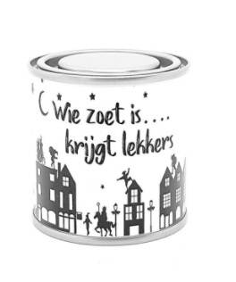 "Cadeaublik ""Wie zoet is.."""