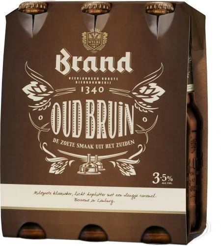Brand oud six-pack