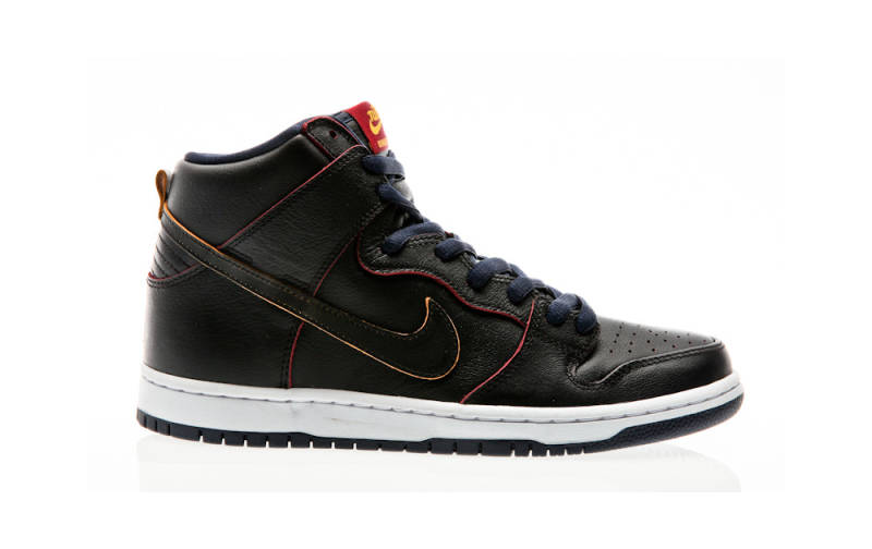 NIKE SB DUNK HIGH NBA BLACK SCRATCH OFF