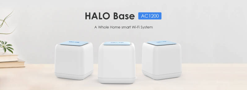 HALO Base - AC1200  Home Wifi Mesh-systeem met Touchlink