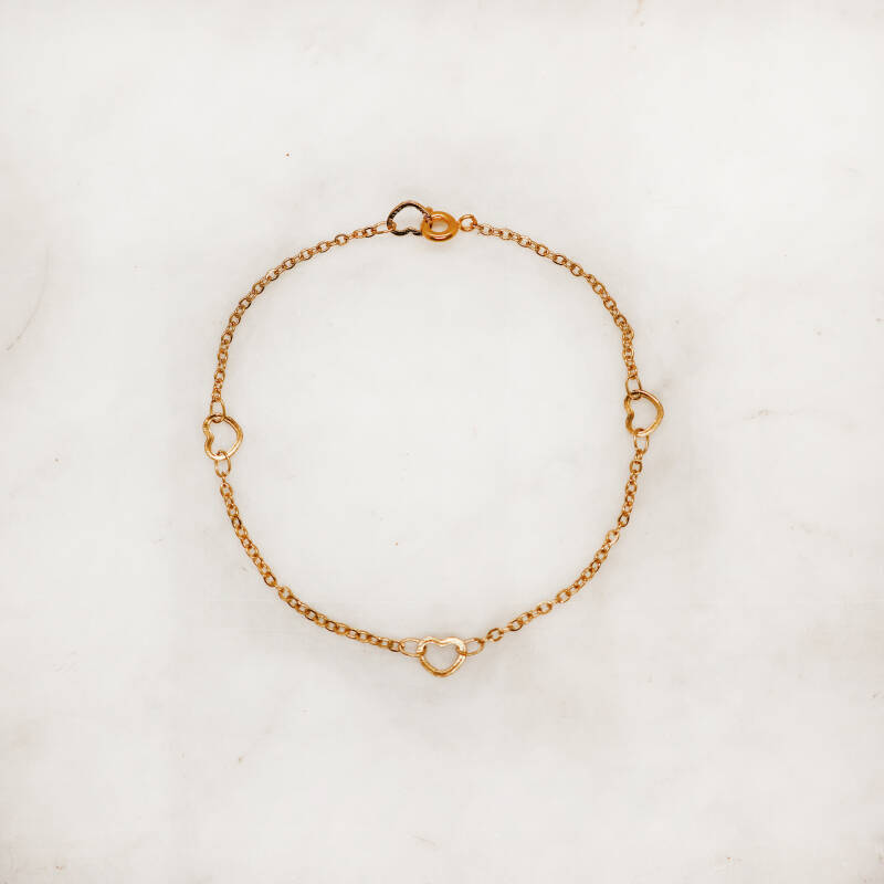 With all my heart bracelet