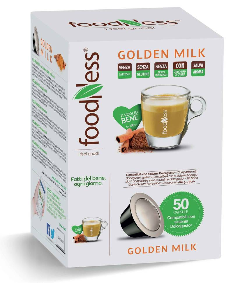 Foodness Golden Milk - Dolce Gusto® - 50 Capsules