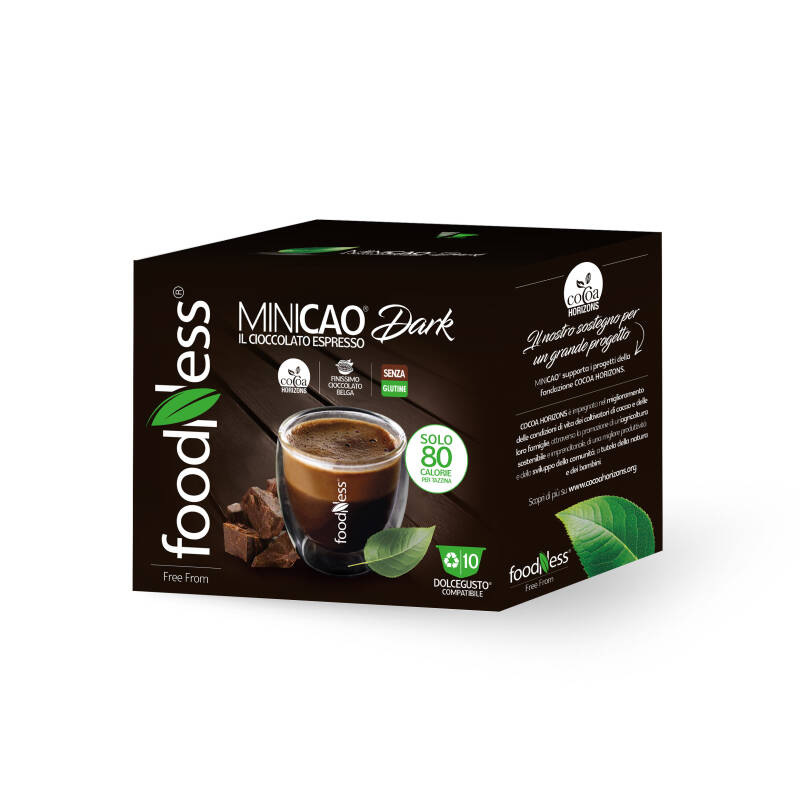 Foodness - Minicao Dark - Dolce Gusto® 10 capsules