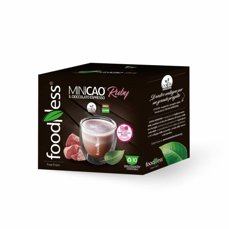 Foodness - Minicao Ruby - Dolce Gusto® 10 capsules