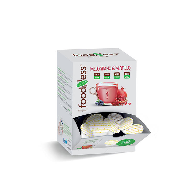 Foodness - Pomegranate & Blueberry - Dolce Gusto® 50 capsules (levertijd 3 weken)
