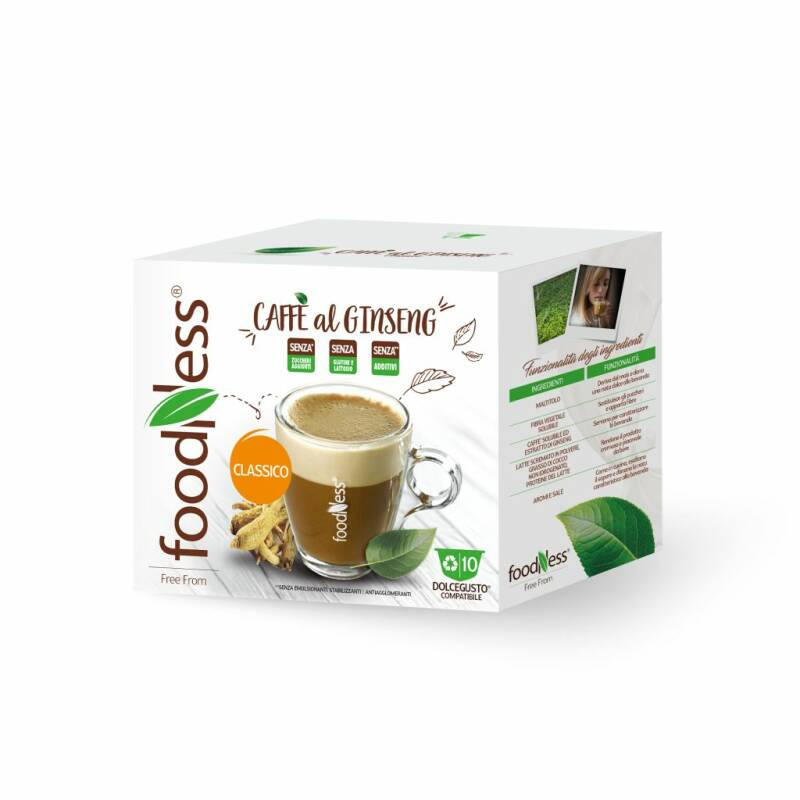 Foodness - Ginseng - Dolce Gusto® - 10 capsules