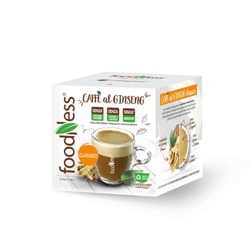 Foodness Ginseng - Mio® - 10 capsules (levering begin maart)