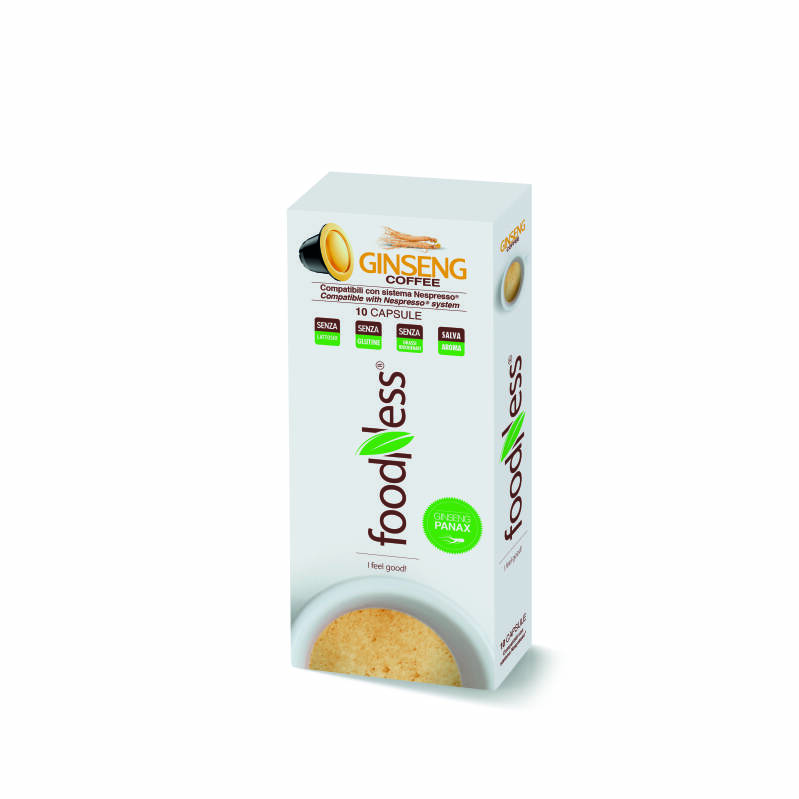 Foodness Ginseng - Nespresso® cups - 10 capsules