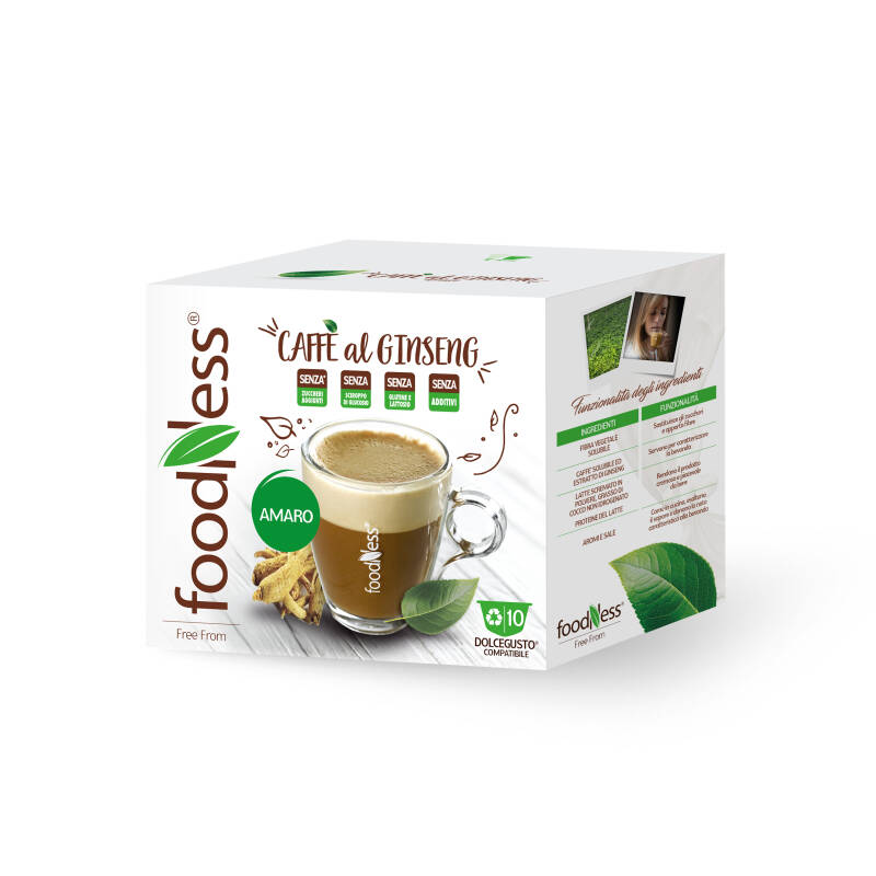 Foodness Ginseng Unsweetened - Dolce Gusto® - 10 capsules