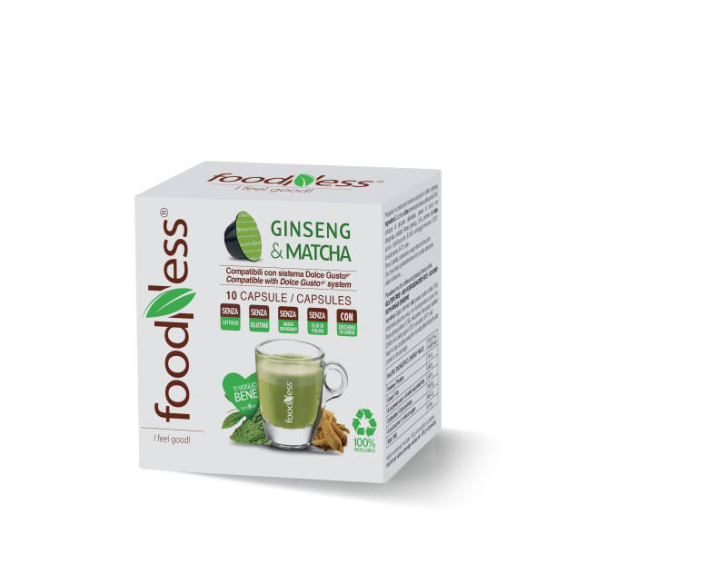 Foodness Ginseng & Matcha - Dolce Gusto® - 10 capsules