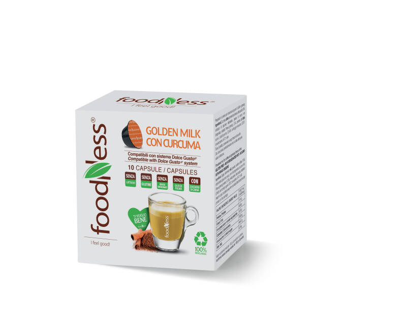 Foodness Golden Milk - Dolce Gusto® - 10 capsules