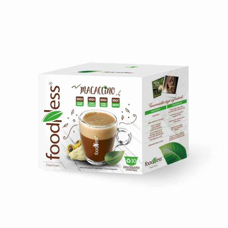 Foodness Macaccino - Dolce Gusto® - 10 capsules