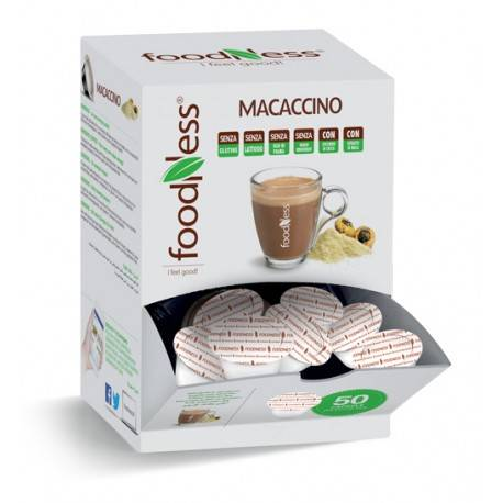 Foodness Macaccino - Dolce Gusto® - 50 Capsules (levertijd 3 weken)