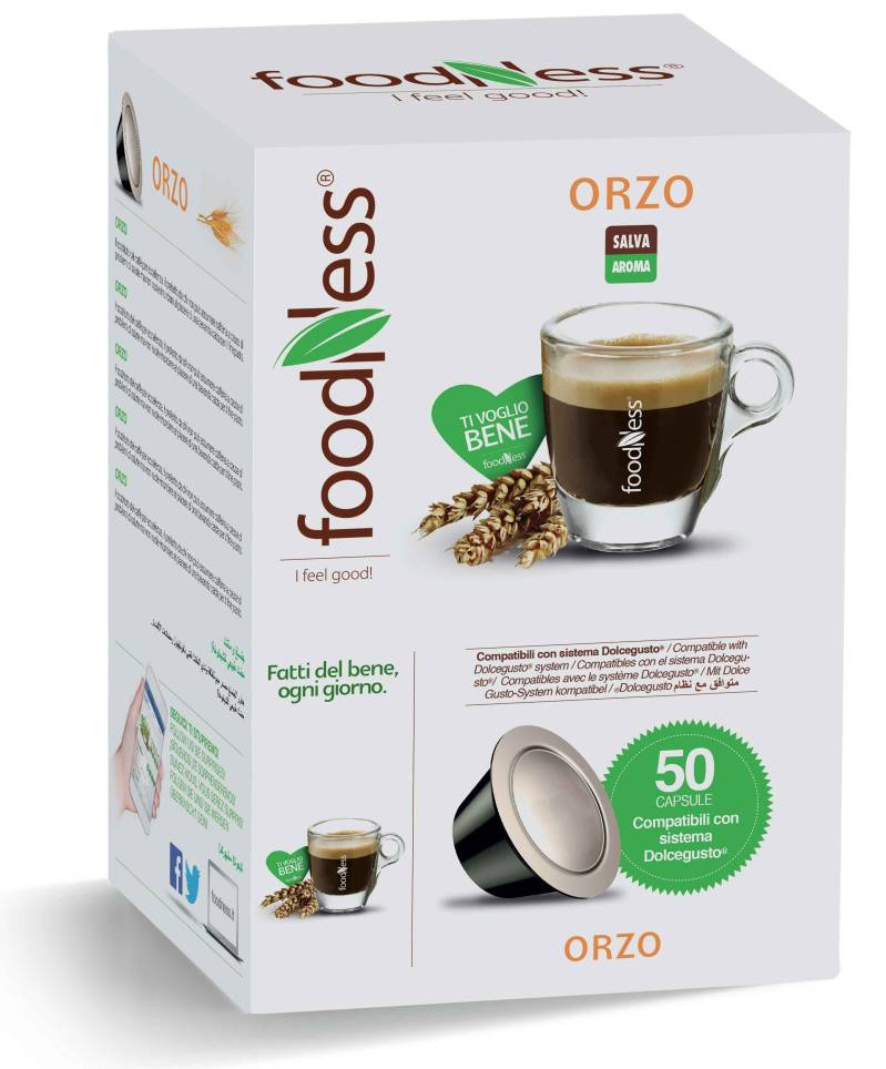 Foodness Orzo - Dolce Gusto® - 50 Capsules