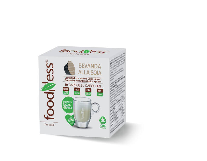 Foodness Sojadrink - Dolce Gusto® - 10 capsules