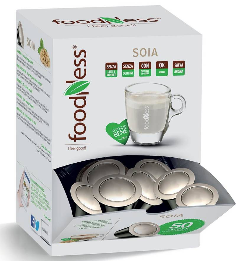 Foodness Sojadrink - Dolce Gusto® - 50 Capsules