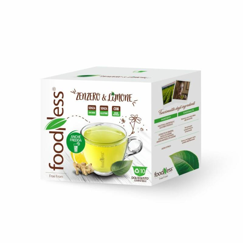 Foodness Gember & citroen - Dolce Gusto® - 10 capsules