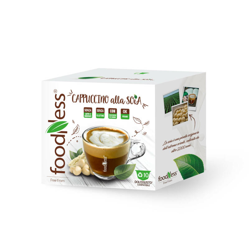Foodness soja cappuccino - Dolce Gusto® - 10 capsules