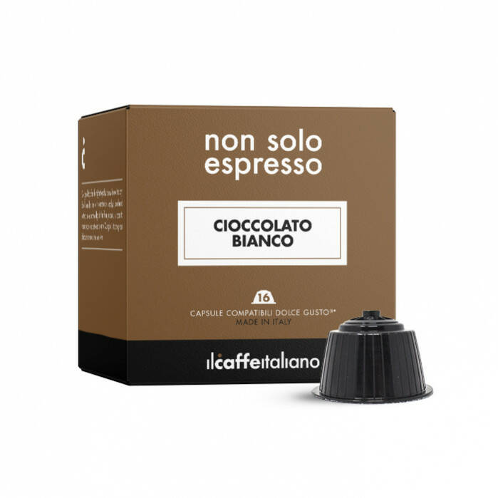 Witte chocolademelk - 16 Dolce Gusto® compatible capsules - Il Caffè Italiano