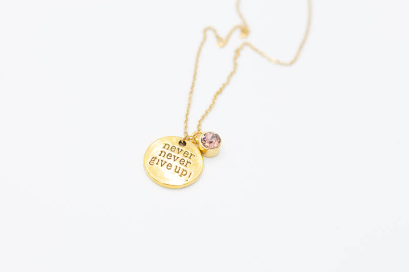 Ketting - Never Give Up