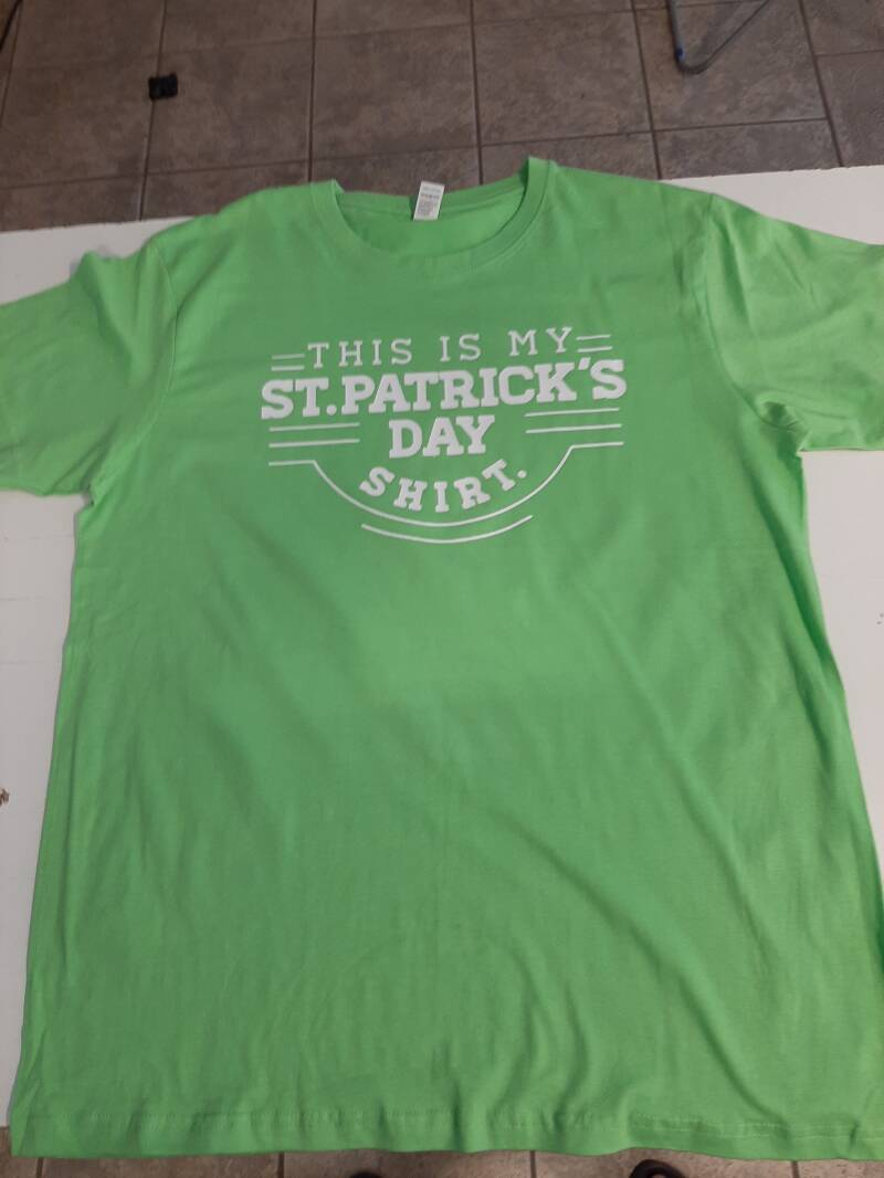 This is my st.Patricksday Tshirt