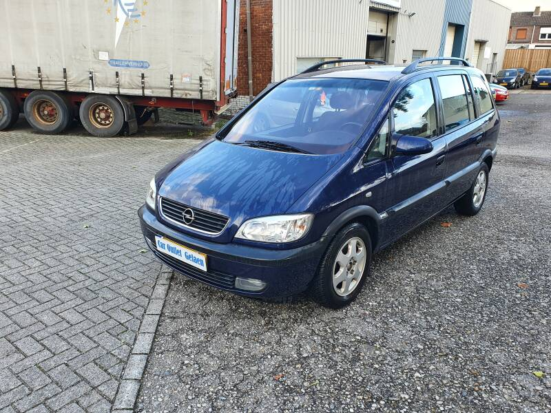 OPEL ZAFIRA 1.6 7 PERSOONS