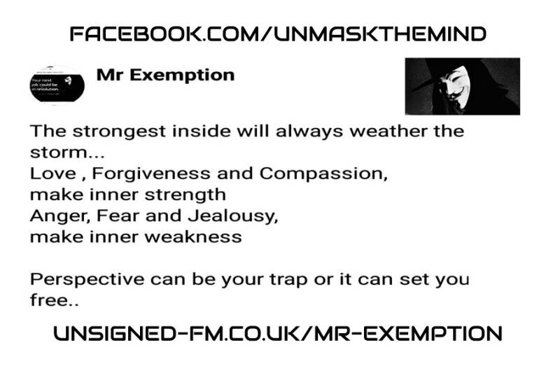 Mr Exemption Stickers Design 2