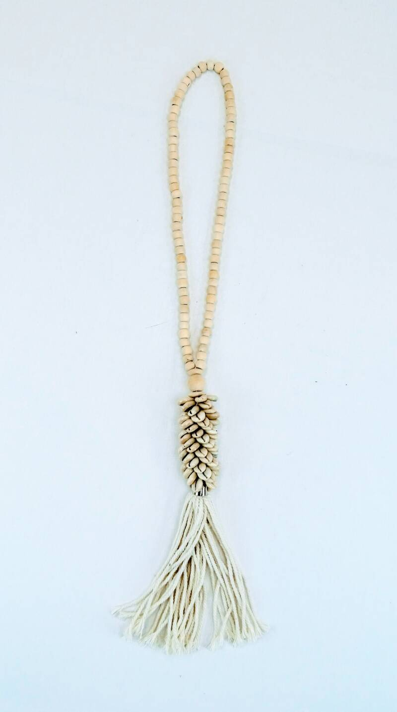 Ketting shell natural