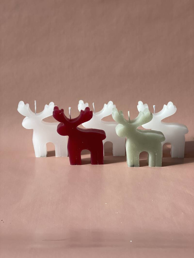 Rudolph Candle