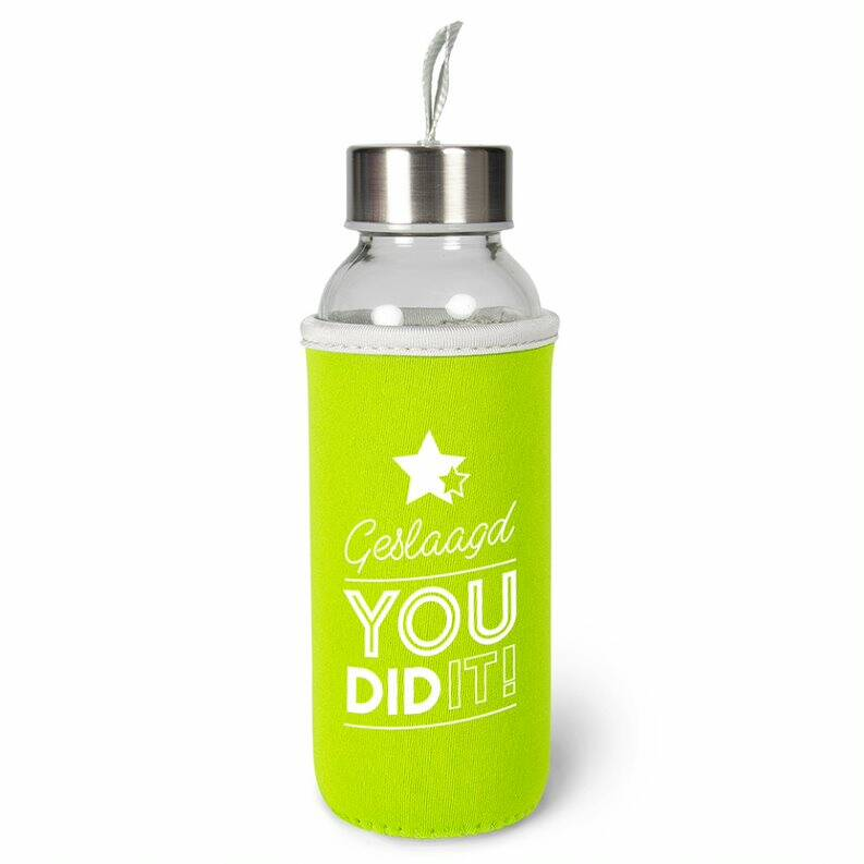 Drinkfles: You did it