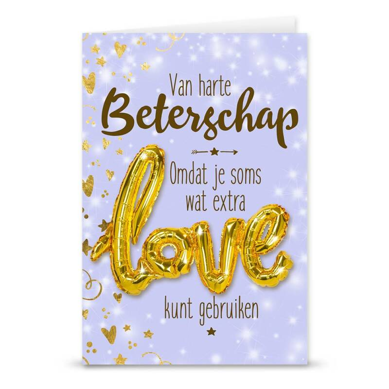 Love Balloon - Veel beterschap