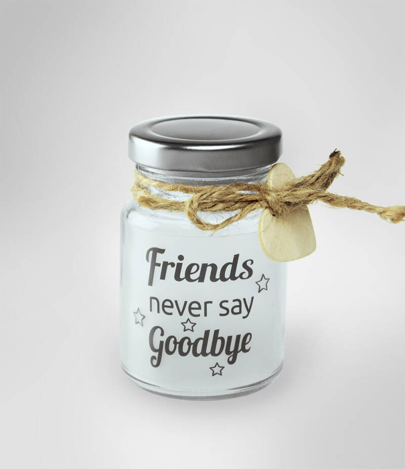 Little star light: Friends never say goodbye