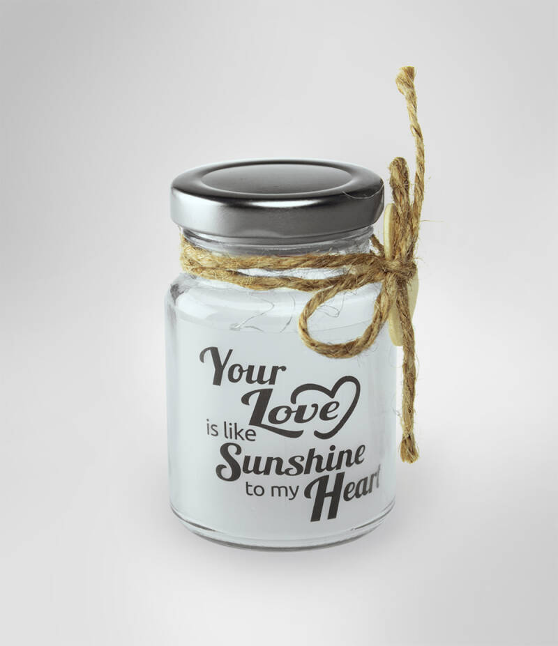 Little star light: Your love is the sunshine to my heart