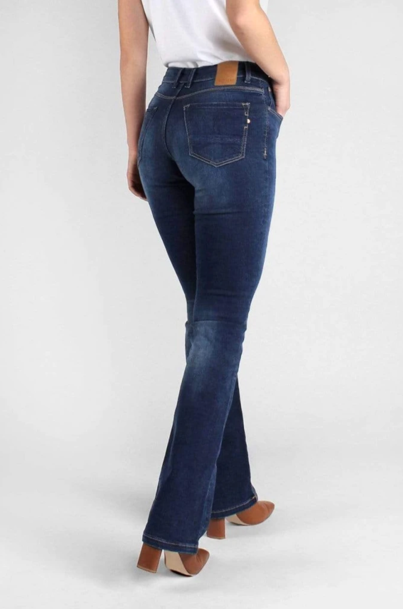 KUYICHI Amy Bootcut - Herbal Blue