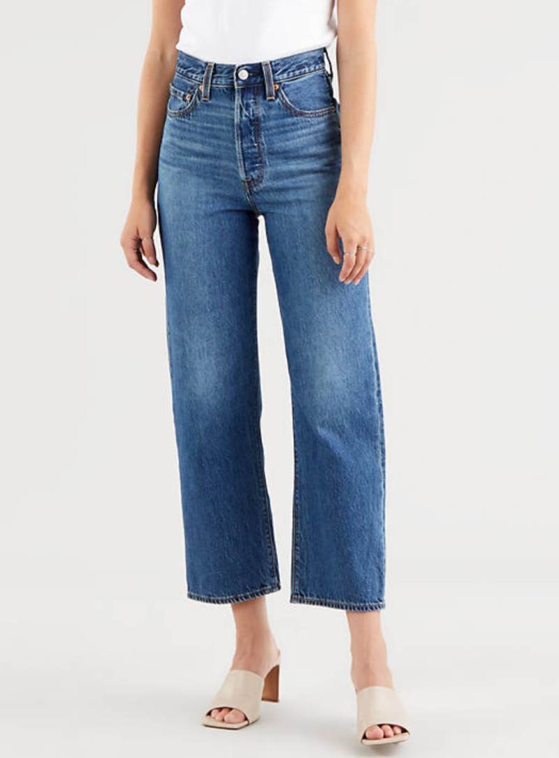 LEVI Ribcage Straight Ankle Jeans