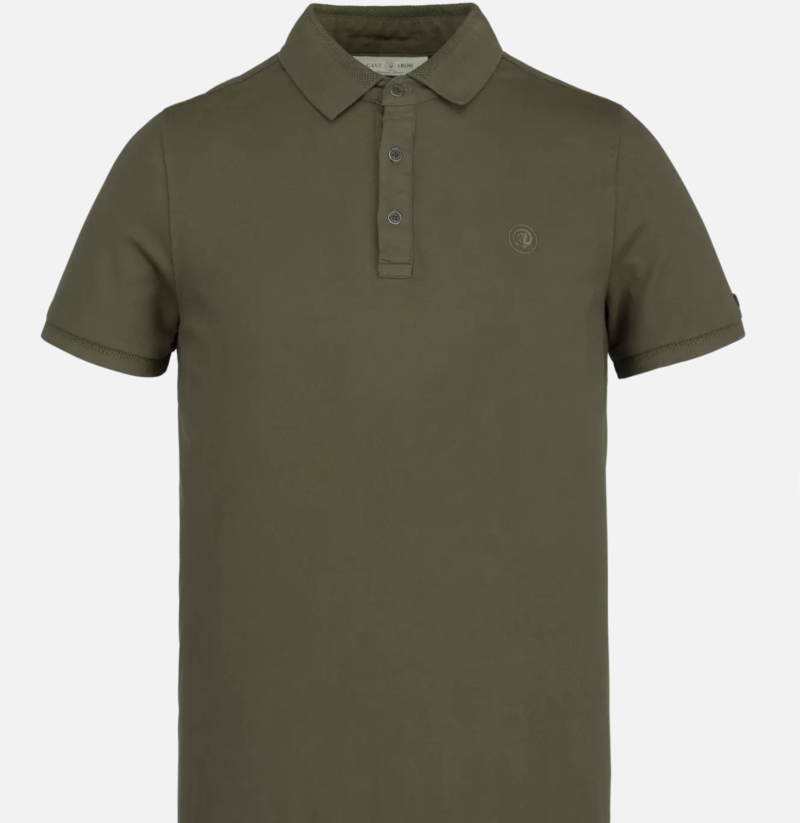 Cast Iron Light Pique Stretch Polo