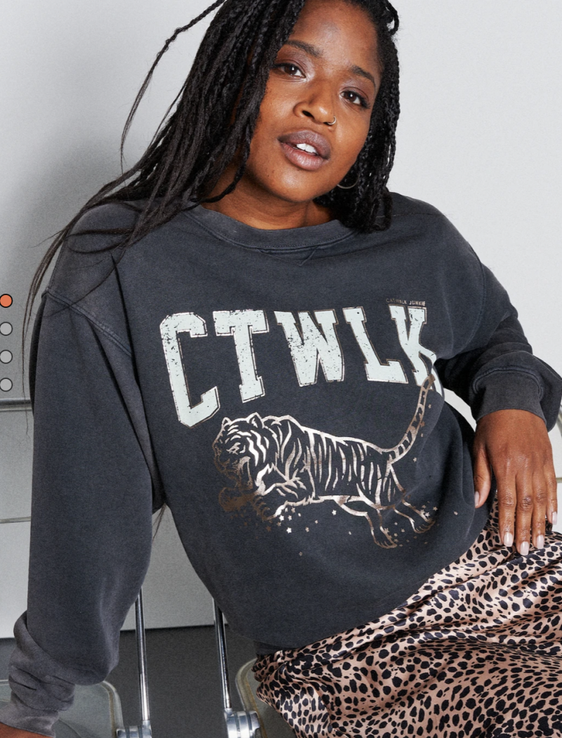 Catwalk Junkie Sweater Jumping Tiger