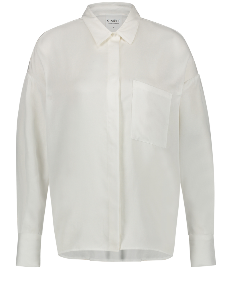 Simple Elopise Blouse Wit