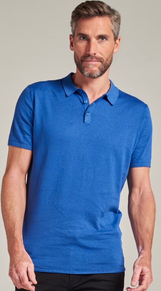 Dstrezzed Knitted Polo