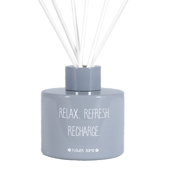 GEURSTOKJES – RELAX REFRESH RECHARGE – FLOWER BOMB