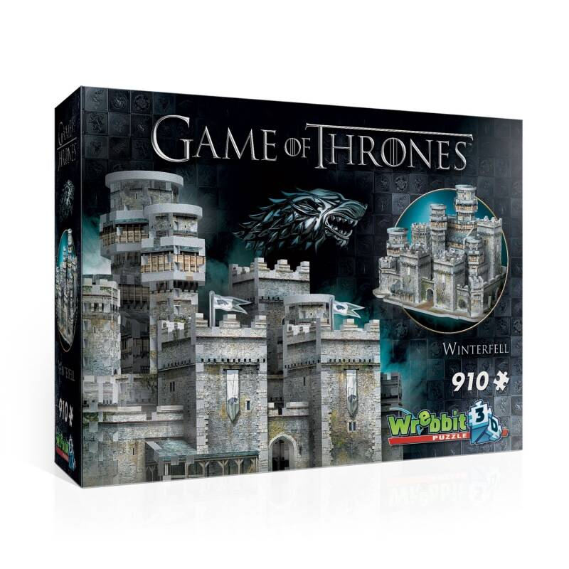 3D Puzzle - Game of Thrones - Winterfell  -  910 piece GS12926