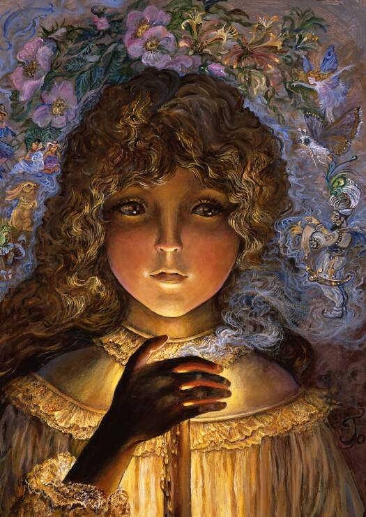 Dreaming by Candlelight -  Puzzle 1,000 pieces Gs13117