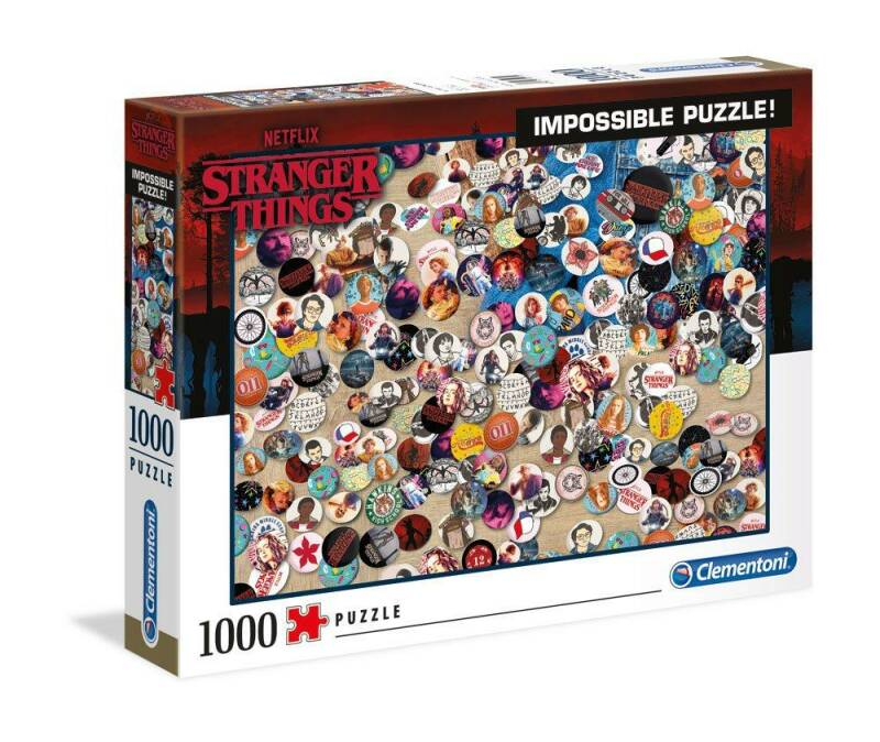 STRANGER THINGS - Impossible Buttons - Puzzle 1000P Gs13254