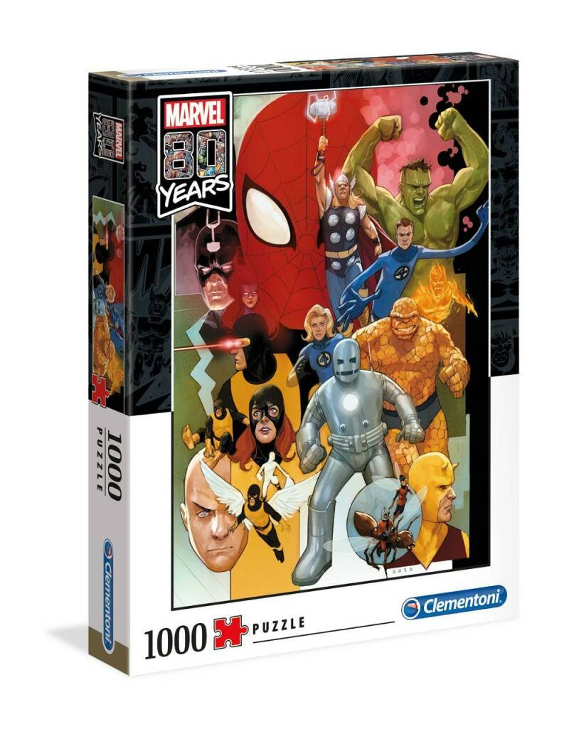 MARVEL - 80th Annviersary Characters - Puzzle 1000 Gs13541
