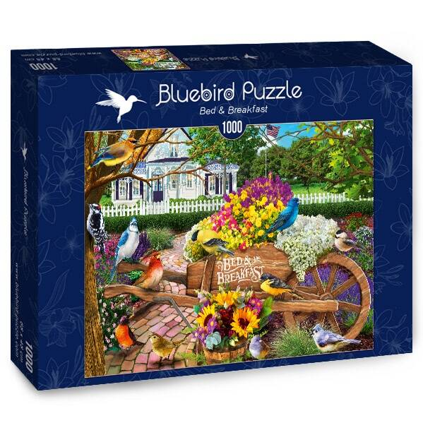 Bed & Breakfast -  Puzzle 1,000 pieces GS13690